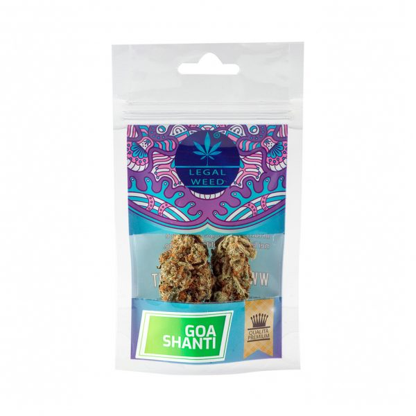 cannabis light goa shanti