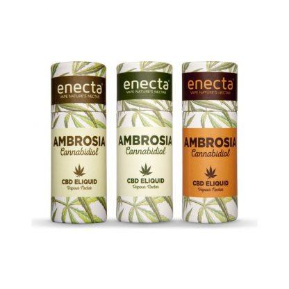 ambrosia enecta eliquid 416x416 - AMBROSIA CBD Aroma 20mg gusto Peach tea - 10ml - by Enecta prodotti-cbd, aromi