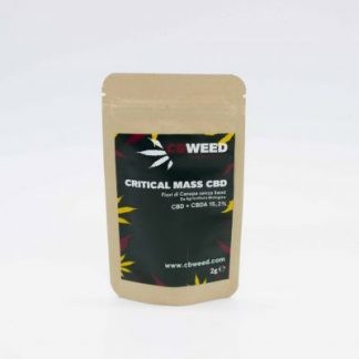 critical mass cannabis light 324x324 - Critical Mass CBD - 2gr - CBweed offerte, cannabis-legale, cannabis-light