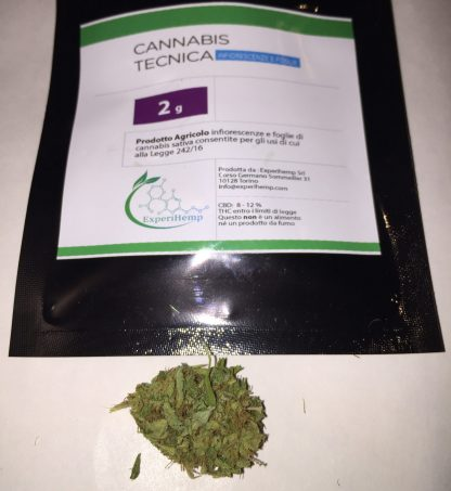 experihempbusta 416x453 - Cannabis tecnica - 2gr - by Experihemp infiorescenze, cannabis-light