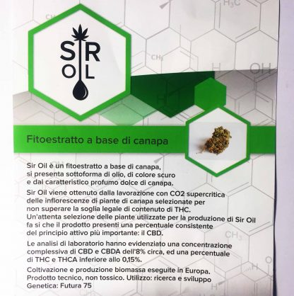 sir oil 02weed cannabis light italia cannabislightitalia descrizione1 416x418 - Fitoestratto SirOil - CBD 8% - by Zero2weed prodotti-cbd, hash-legale