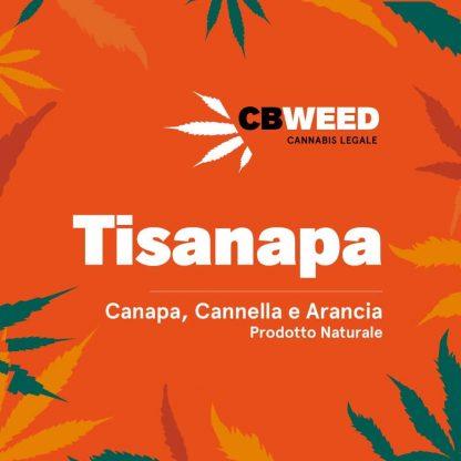 tisanapa canapa arancia cannella cbweed cannabis light italia 416x416 - Tisanapa - canapa arancia e cannella - 25gr - by Cbweed tisane, prodotti-cbd, alimentari