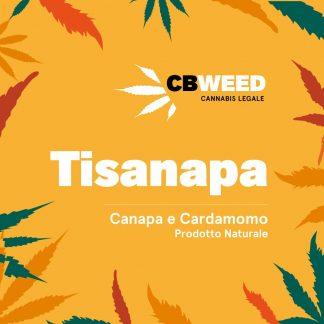 tisanapa canapa cardamomo cbweed cannabis light italia 324x324 - Tisanapa - canapa e cardamomo - 25gr - by Cbweed tisane, prodotti-cbd, alimentari