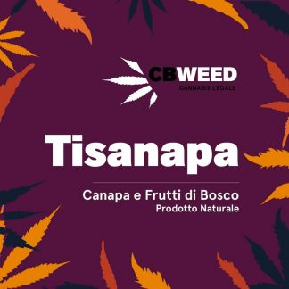 tisanapa canapa frutti di bosco cbweed cannabis light italia 324x324 - Tisanapa - canapa e frutti di bosco - 25gr - by Cbweed tisane, prodotti-cbd, alimentari
