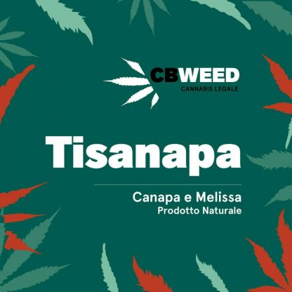 tisanapa canapa melissa cbweed cannabis light italia 416x416 - Tisanapa - canapa e melissa - 25gr - by Cbweed tisane, prodotti-cbd, offerte, alimentari