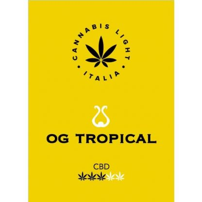 b etichetta og tropical cannabis legale 416x416 - OG Tropical - 2gr - Cannabis light Italia offerte, infiorescenze, cannabis-light