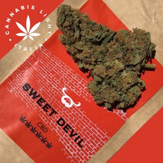 sweet devil cannabis light italia canapa legale 324x324 - Sweet Devil - 3gr - by Cannabis light Italia infiorescenze, cannabis-light