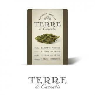 4 TERRE cannabis RISERVA 1gram LR 324x324 - Riserva Opulenta - 1gr - Terre di Cannabis infiorescenze, cannabis-light