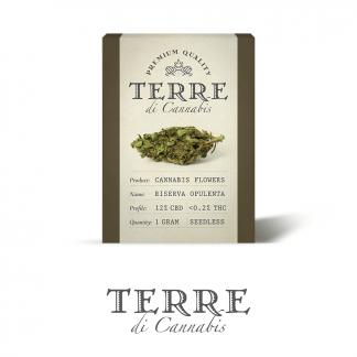 4 TERRE cannabis RISERVA 1gram LR 324x324 - Santa Verde - 1gr - by Terre di Cannabis novita, infiorescenze, cannabis-light
