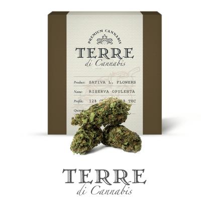 5 TERRE cannabis RISERVA 3grams LR 416x416 - Riserva Opulenta - 3gr - Terre di Cannabis infiorescenze, cannabis-light
