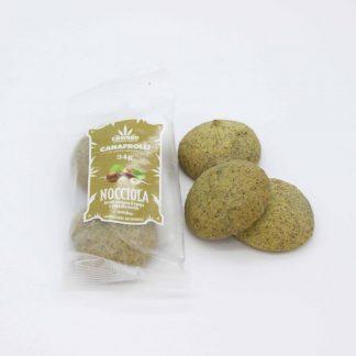 Canafrolli nocciola Foto1 324x324 - Biscotti Canafrolli - amarena e canapa alimenti, alimentari