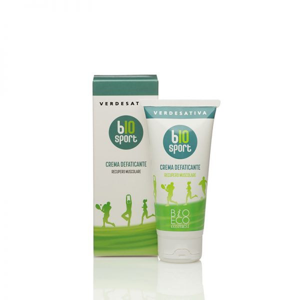 crema defaticante bio sport recupero muscolare verdesativa 600x600 - Bio Sport - Crema Defaticante - 100ml - Verdesativa cosmesi-alla-canapa, cura-del-corpo