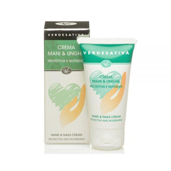 crema mani barriera protettiva 600x600 - Crema Mani e Unghie 100% naturale - 50ml - Verdesativa cosmesi-alla-canapa, cura-del-corpo