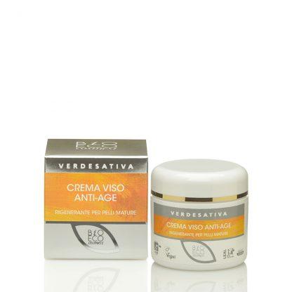 crema viso anti age verdesativa rigenerante 416x416 - Crema Viso Bioattiva Anti-Age - 50ml - Verdesativa cura-del-viso, cosmesi-e-salute