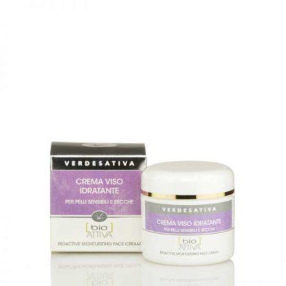 crema viso idratante verdesativa 416x416 - Crema Viso Bioattiva Idratante - 50ml - Verdesativa cura-del-viso, cosmesi-alla-canapa