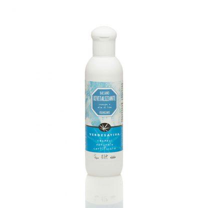 balsamo capelli rivitalizzante canapa e olio di lino verdesativa 416x416 - Balsamo Capelli Rivitalizzante - 200ml - Verdesativa detergenti-e-saponi, cosmesi-e-salute