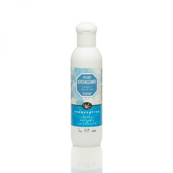 balsamo capelli rivitalizzante canapa e olio di lino verdesativa 600x600 - Balsamo Capelli Rivitalizzante - 200ml - Verdesativa detergenti-e-saponi, cosmesi-alla-canapa