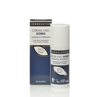 crema viso uomo antiage aftershave verdesativa 324x324 - Detergente Intimo Delicato al Tea Tree - 250ml - Verdesativa detergenti-e-saponi, cosmesi-e-salute