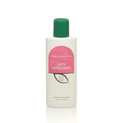 latte detergente canapa e uva rossa verdesativa 416x416 - Latte Detergente Canapa e Uva Rossa - 200ml - Verdesativa cura-del-viso, cosmesi-e-salute