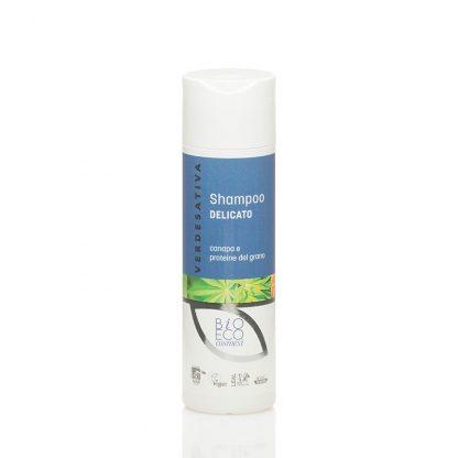 shampo delicato proteine del grano verdesativa 416x416 - Shampoo Delicato Canapa e Proteine del Grano - 200ml - Verdesativa primo-piano, detergenti-e-saponi, cosmesi-e-salute