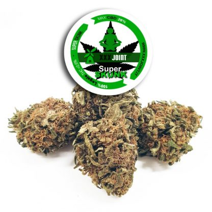 super skunk cbd 26 cannabis legale xxxjoint 416x416 - Super Skunk CBD - 3gr - Xxxjoint infiorescenze, cannabis-light