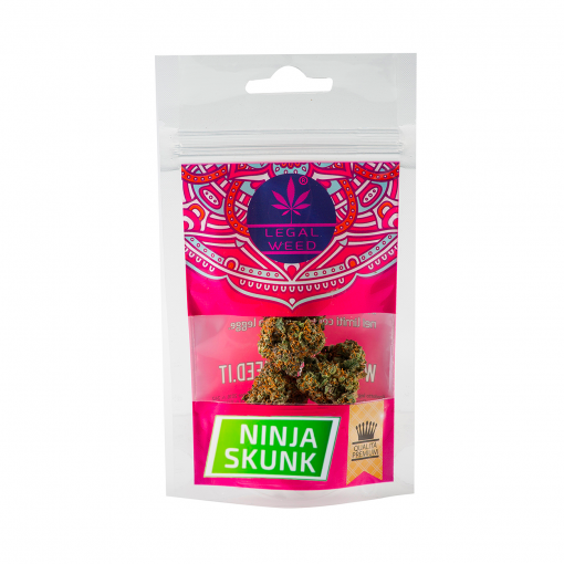 NINJA SKUNk BUSTA legal weed cannabis legale - Ninja Skunk - 10gr - Legal weed cannabis-legale, cannabis-light