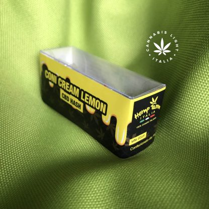 coni cream lemon cbd hash hemp farm italia hashish legale fronte 416x416 - Coni Cream CBD Lemon Hash - 2gr - Hemp Farm Italia hash-legale, cannabis-light