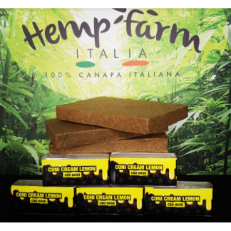 coni cream lemon hash 2g cbd 1280 hemp farm italia 324x324 - Coni Cream CBD Lemon Hash - 2gr - Hemp Farm Italia hash-legale, cannabis-light