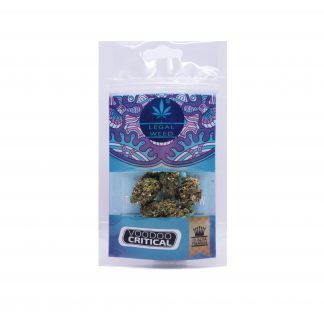 vooodooo crytical legal weed cannabis legale nuova 324x324 - Voodoo Critical - 5gr - Legal weed novita, infiorescenze, cannabis-light