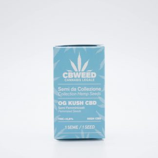 Og kush semi di cannabis light 324x324 - Semi Femminizzati Strawberry CBD - Cbweed semi, novita, cannabis-light