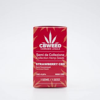 Strawberry semi di cannabis light 324x324 - Semi Femminizzati Strawberry CBD - Cbweed semi, novita, cannabis-light