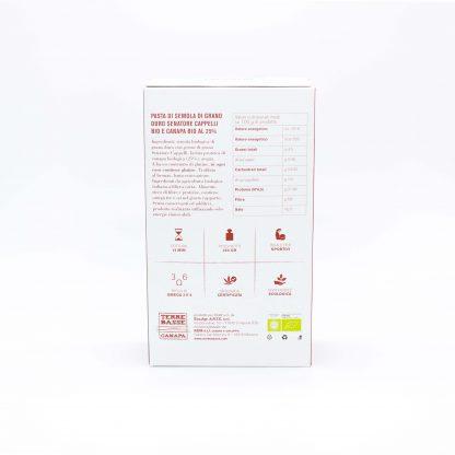 pasta di canapa paccheri B WEB 416x416 - Pasta Bio con Farina di Canapa 25% - Paccheri primo-piano, alimenti, alimentari