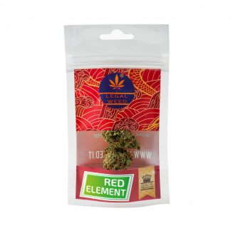busta red element legal weed cannabis 324x324 - Red Element - 5gr - Legal weed novita, infiorescenze, cannabis-light