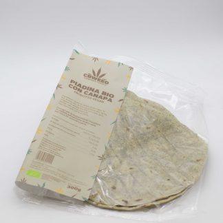 piadina con farina di canapa bio web 324x324 - Piadina Bio alla Canapa - 300g - Cbweed alimenti, alimentari