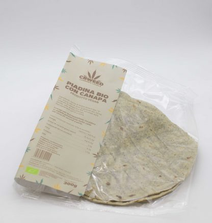 piadina con farina di canapa bio web 416x438 - Piadina Bio alla Canapa - 300g - Cbweed alimenti, alimentari