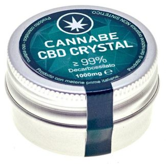 cristalli cbd cannabe 324x324 - Cristalli CBD Clear 99% - 1gr - Cannabe prodotti-cbd, cristalli-cbd