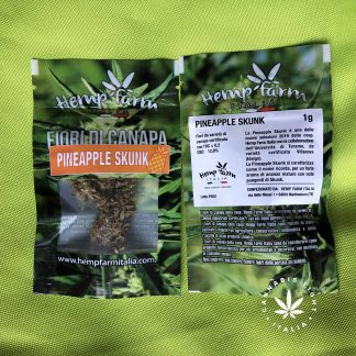 pineapple skunk 1 gr hemp farm italia cannabis light 324x324 - Pineapple Skunk - 1gr - Hemp Farm Italia infiorescenze, cannabis-light
