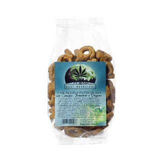 Tarallini Integrali canapa pomodoro e rosmarino 324x324 - Tarallini Integrali Canapa Pomodoro e Rosmarino - 250g offerte, alimenti-alla-canapa, prodotti-alimentari-alla-canapa