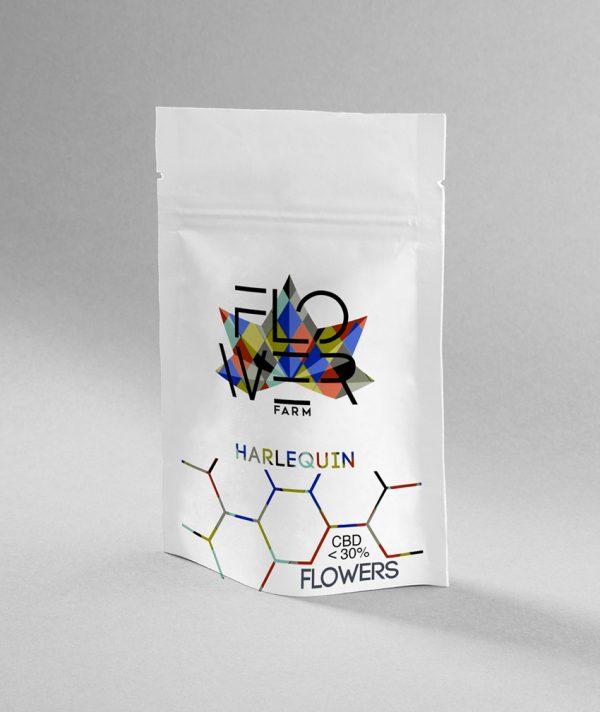 byflowerfarm harlequin pack 600x712 - Harlequin - 1gr - Flower Farm cannabis-legale, fino-a-3-gr, cannabis-light