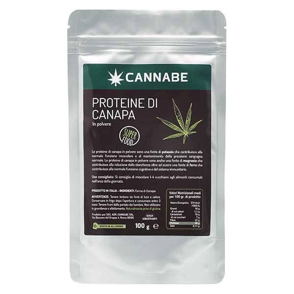 Proteine di canapa CANNABE