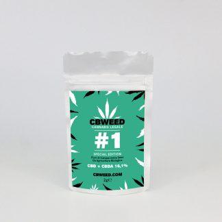 1 special edition 324x324 - CB #1 CBD - 2gr - CBweed novita, cannabis-legale, cannabis-light