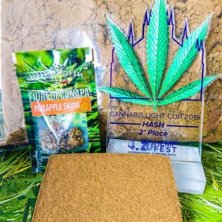 premio pineapple hash 420 milano 1 324x324 - Coni Cream Pineapple Hash - 2gr - Hemp Farm Italia novita, hash-legale, cannabis-light
