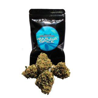 vanilla busta e cime 324x324 - Vanilla Spice - 10gr - Flavor Selection novita, cannabis-legale, cannabis-light