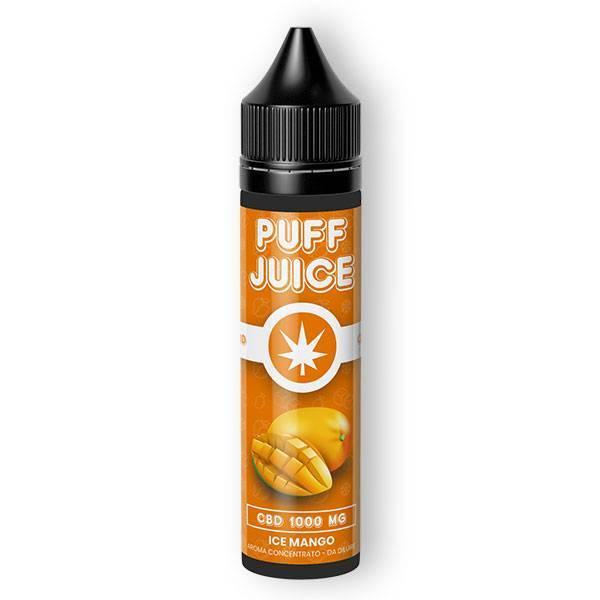 ice mango puff juice cbd - Aroma CBD Puff Juice - Ice Mango - 40ml - Cannabe prodotti-cbd, offerte, e-liquid-cbd-aromi