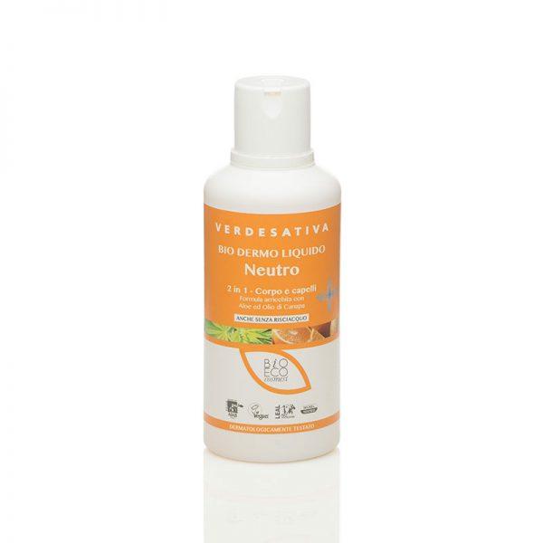 bio dermo liquido neutro 600x600 - Biodermoliquido Neuro Corpo e Capelli - Verdesativa detergenti-e-saponi, cosmesi-alla-canapa