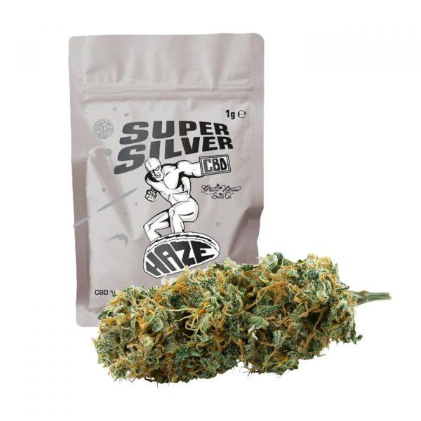 cannabis light cbd super silver haze